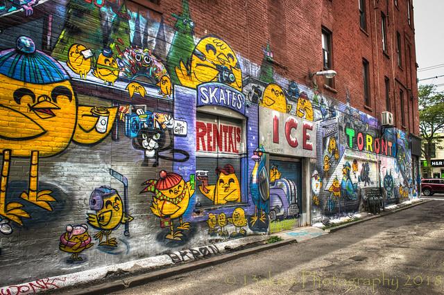 The Rink Graffiti Style (HWW)