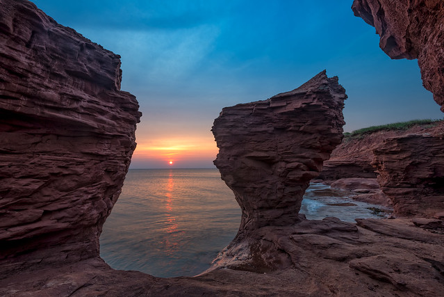 Sunrise at Thunder Cove