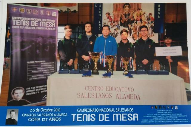 Nacional Salesiano Tenis de Mesa