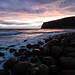 Sunset at Rackwick Bay
