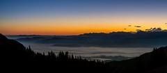 Sunrise Gantrisch region