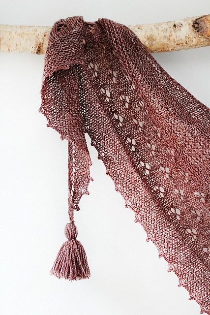 Rewilding Shawl by Helen Stewart of Curious Handmade