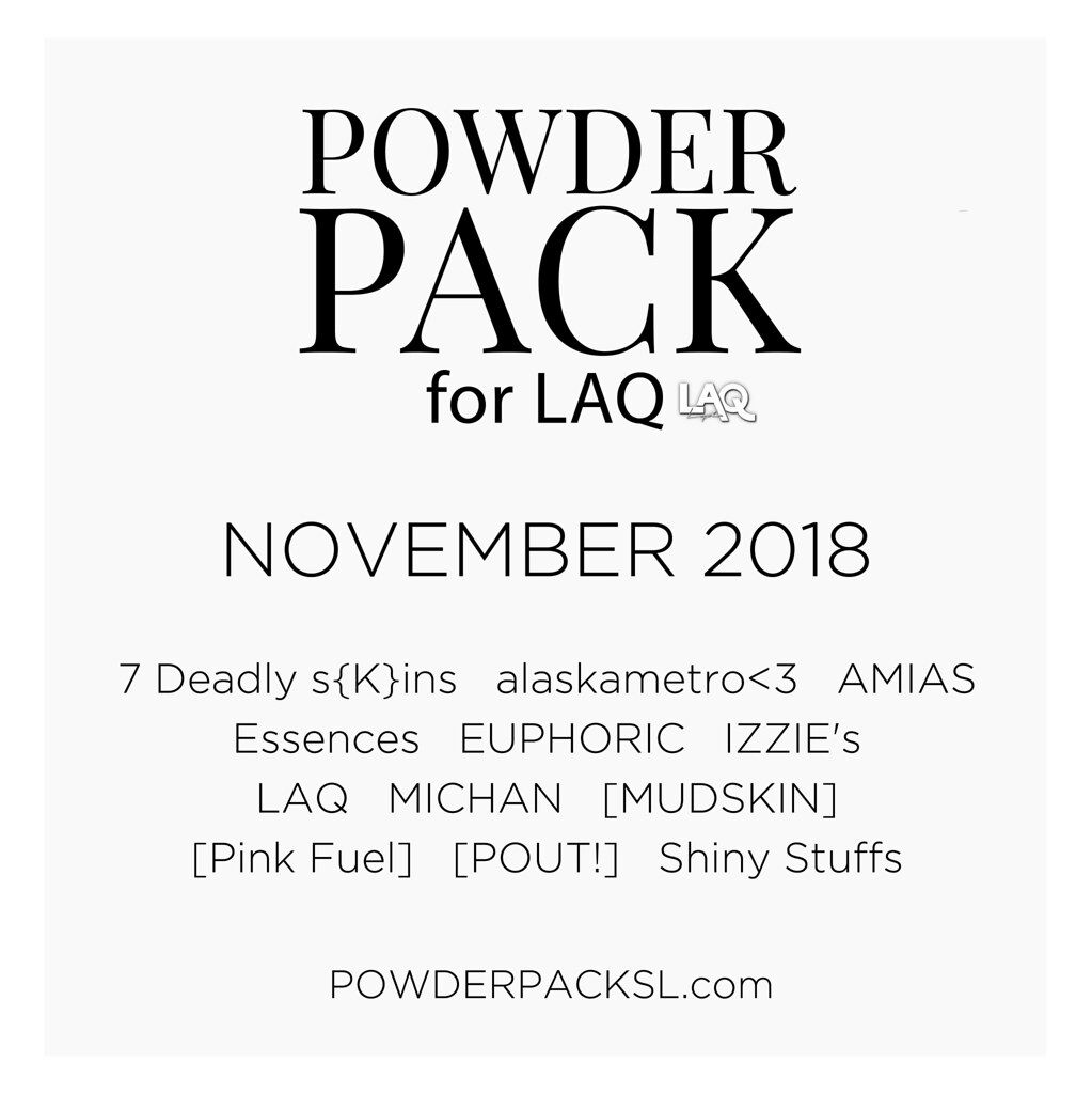 POWDER PACK LAQ November 2018 - TeleportHub.com Live!