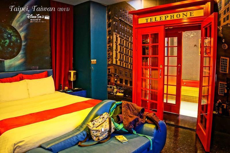 Taipei - Sato Castle Hotel 01