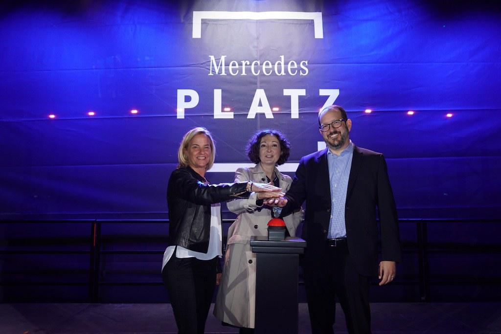 Mercedes Platz otvoranje 1