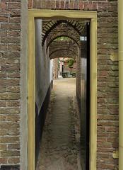 Look through in Zuiderzeemuseum