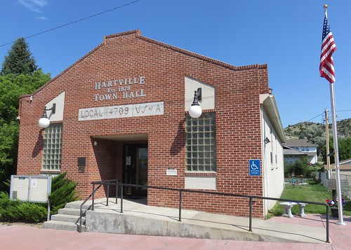 Hartville, Wyoming Town Hall