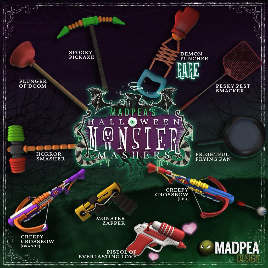 Halloween Hunt Monster Mashers Gacha Key
