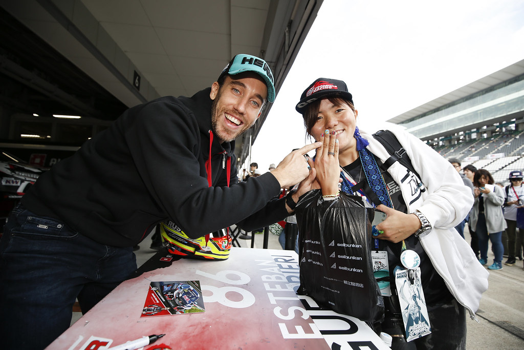 GUERRIERI Esteban, (arg), Honda Civic TCR team ALL-INKL.COM Munnich Motorsport, portrait during the 2018 FIA WTCR World Touring Car cup of Japan, at Suzuka from october 26 to 28 - Photo Clement Marin / DPPI