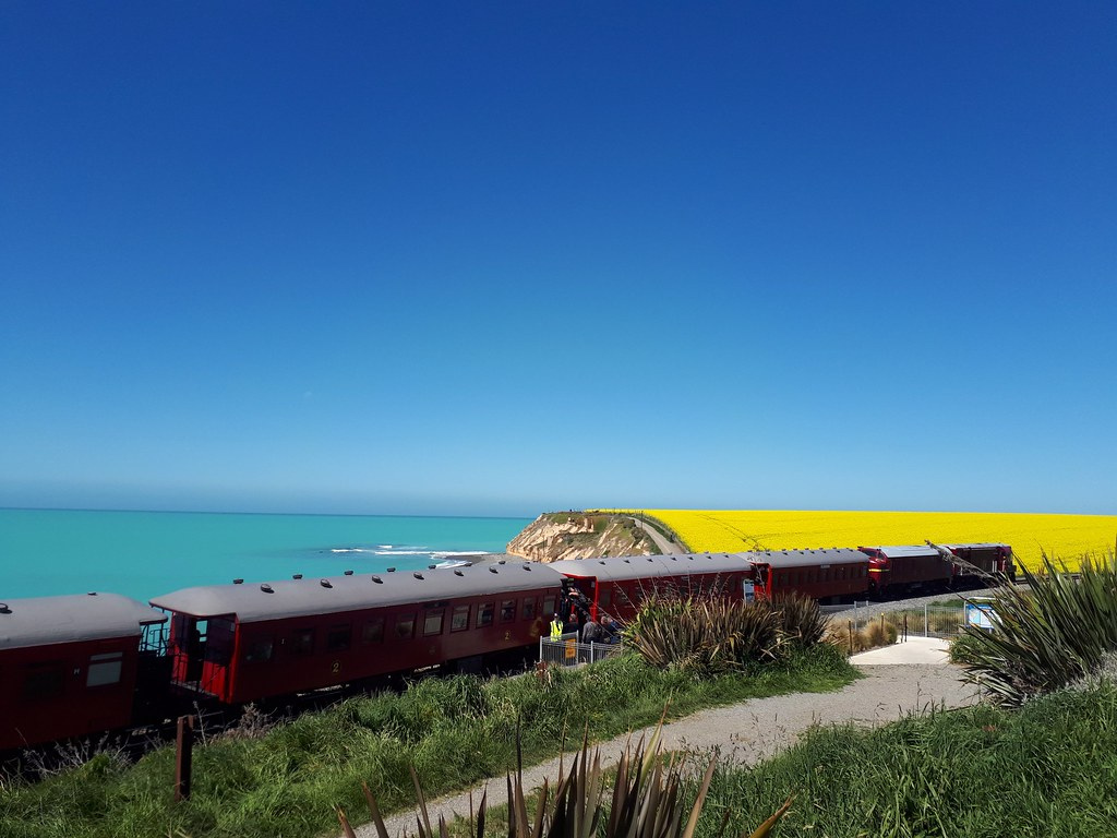 TImaru.The wife's first attempt at railway photography. Picture by Michelle Surgenor.