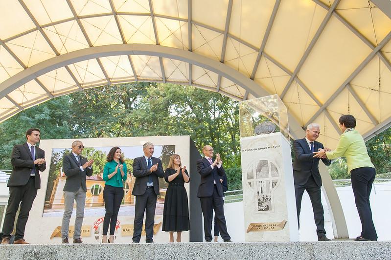 2018 Ceremony for Pavilion of Prince Miloš, Serbia