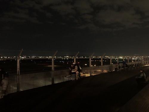 屋上展望デッキからの夜景 南東方向 AC0D7936-50A8-460F-85F1-2EEAC7FD55EE