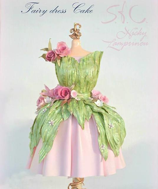 Fairy Dress Cake by SugarWorld - Aliprantis