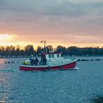 Abendsonne - Wasser - Schiff - Fehmarn - Schleswig-Holstein - Germany