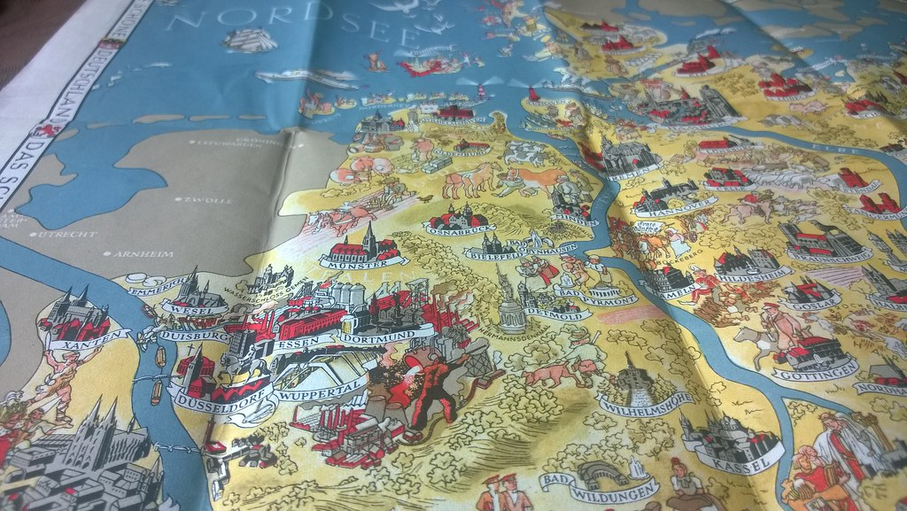 Deutschland; 1934_6, map, Germany | worldtravelLib - I am seeking a ...