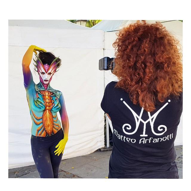 Tenerife Bodypaiting Festival