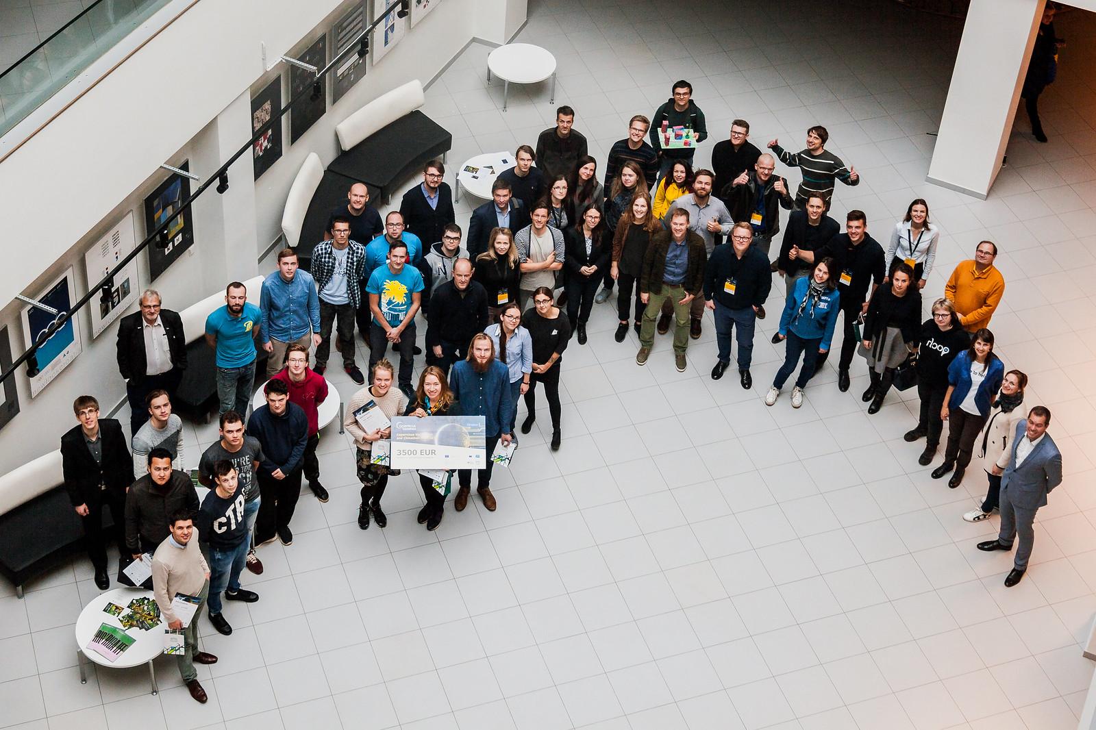 Hakatons «Copernicus Hackathon and Climathon Riga 2018»