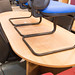 Oak boardroom table E295