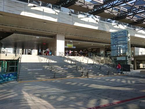 豐原車站入口