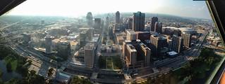 Downtown Saint Louis Panorama