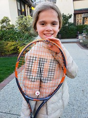 Violet And Her New Tennis Racquet
