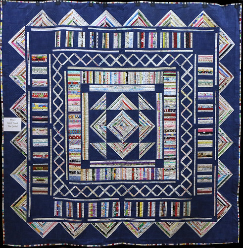 72: Modern Selvage Medallion Quilt - Kathy Beguin