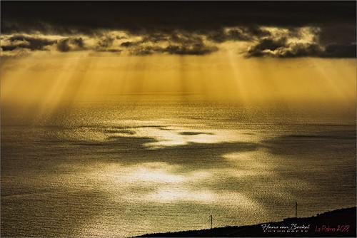 La Palma - Sunrays