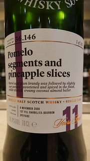 SMWS 36.146 - Pomelo segments and pineapple slices