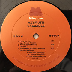 AZYMUTH:CASCADES(LABEL SIDE-B)