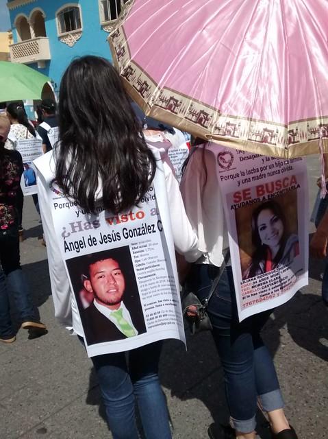 marcha desaparecidos Xicotepec 7