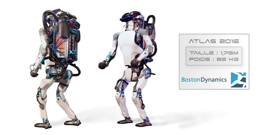 Boston Dynamics : Atlas peut maintenant franchir les obstacles