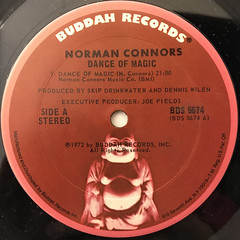 NORMAN CONNORS:DANCE OF MAGIC(LABEL SIDE-A)