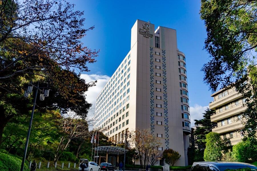 ザ・プリンスさくらタワー東京外観