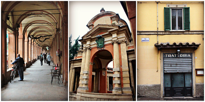 Roteiro por Bologna