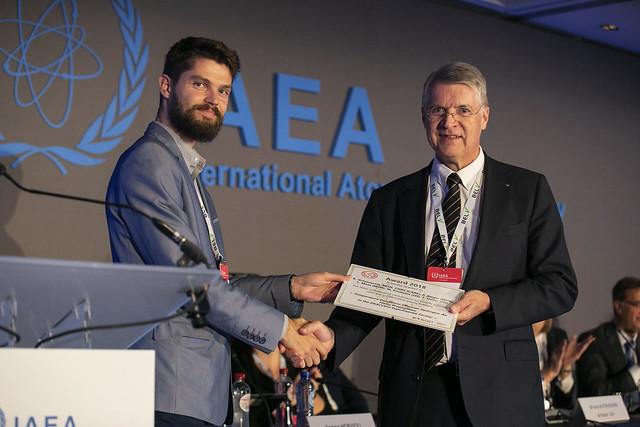 IAEA BelV TSO conf 2018 - ETSON Award - Mantas Povilaitis