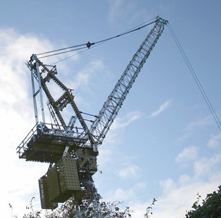 Meccano Luffing Tower Crane | by Dovedale Derby
