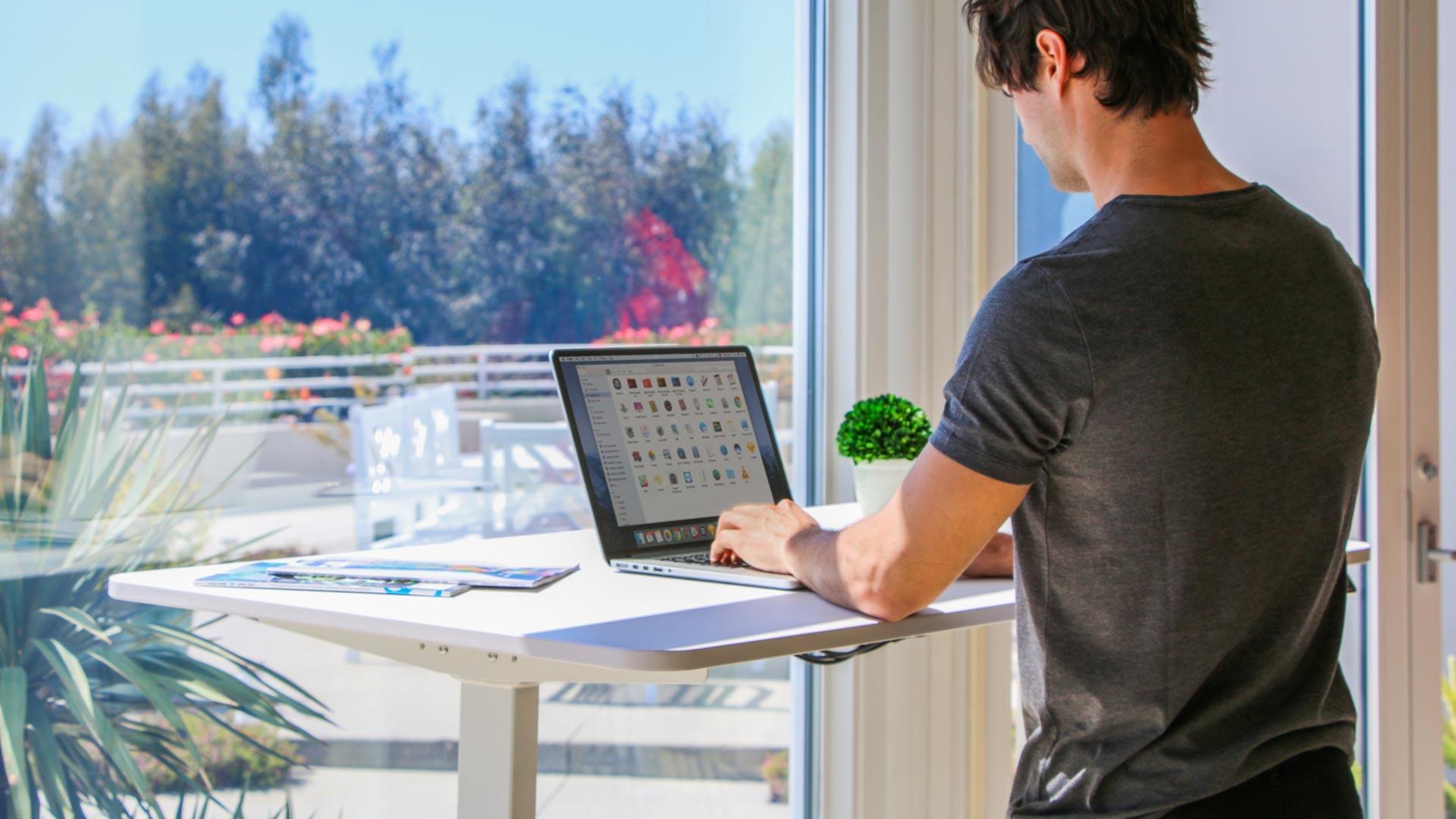 work at Autonomous Standing Desk