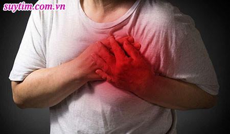 Đau thắt ngực không ổn định, người bệnh phải trải qua cơn đau nghẹt lồng ngực