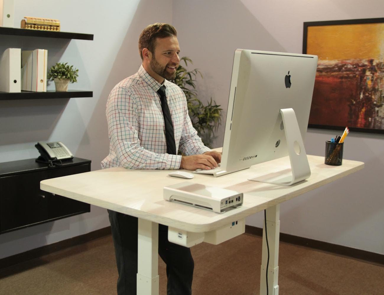 Why our SmartDesk mini is the best tabletop standing desk yet?