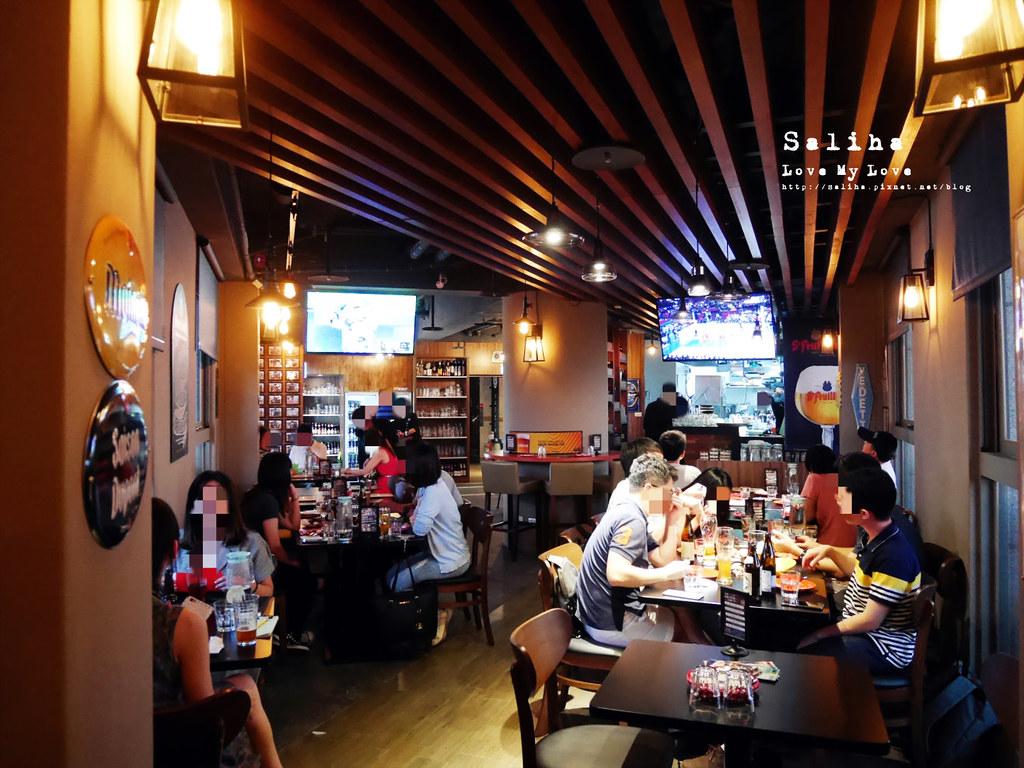 板橋府中站附近氣氛好浪漫約會餐廳美食推薦ABV閣樓餐酒館義大利麵沙拉啤酒 (12)