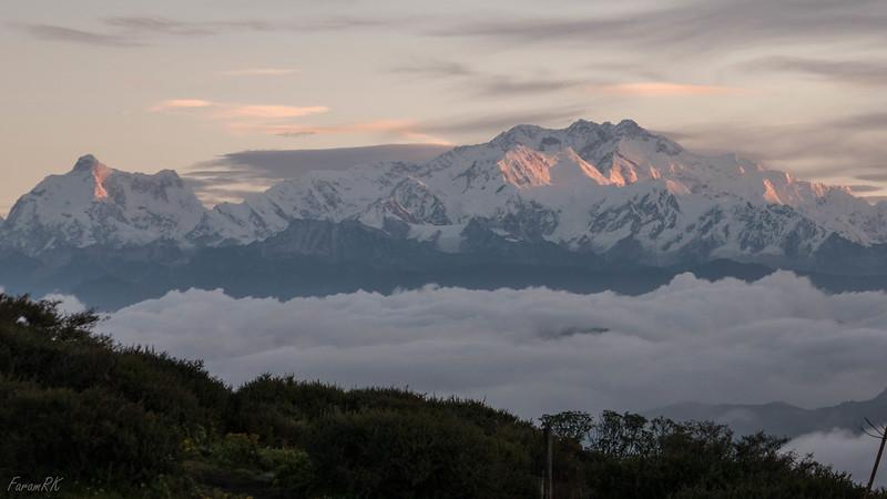 Jannu & Kanchenjunga massif from Sandakphu