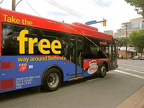 Free Bethesda Circulator Bus