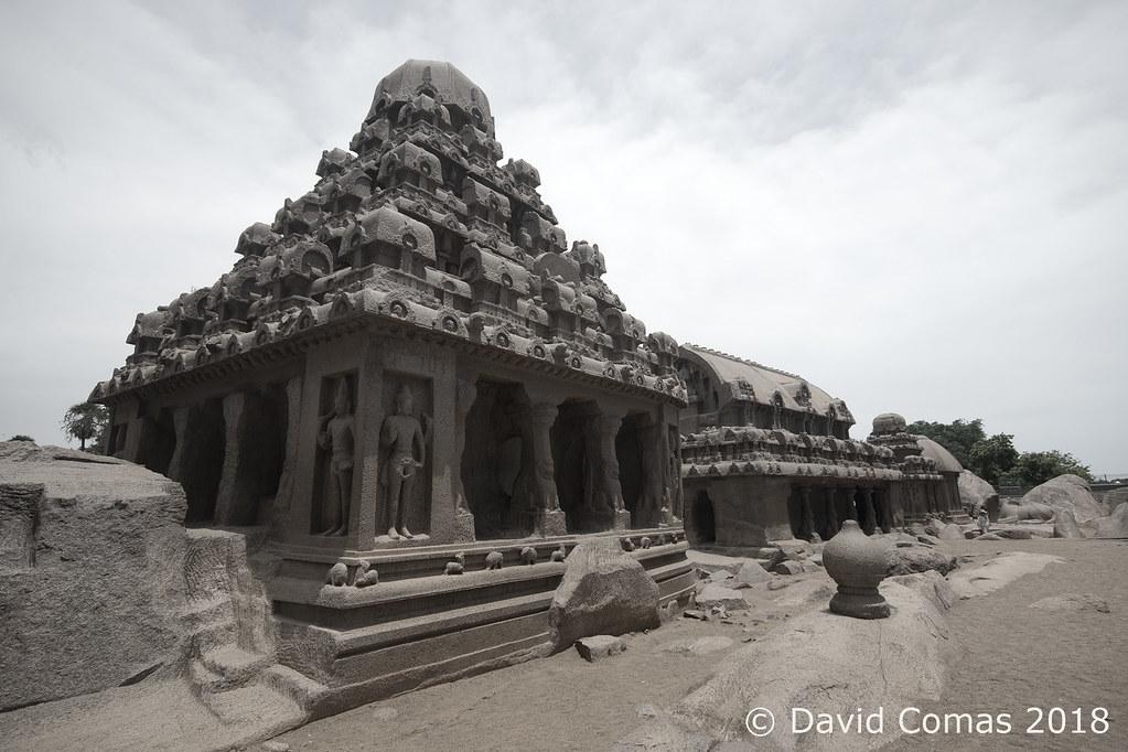 Mahabalipuram - Five Rathas