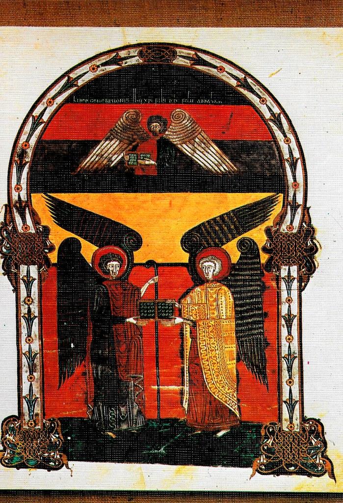 Genealogía de Jesucristo. Hijo de Dios. Hijo de Abrahán Mt. I, 1 Santo Toribio de Liébana (Cantabria), San Beato de Liébana (siglo VIII),