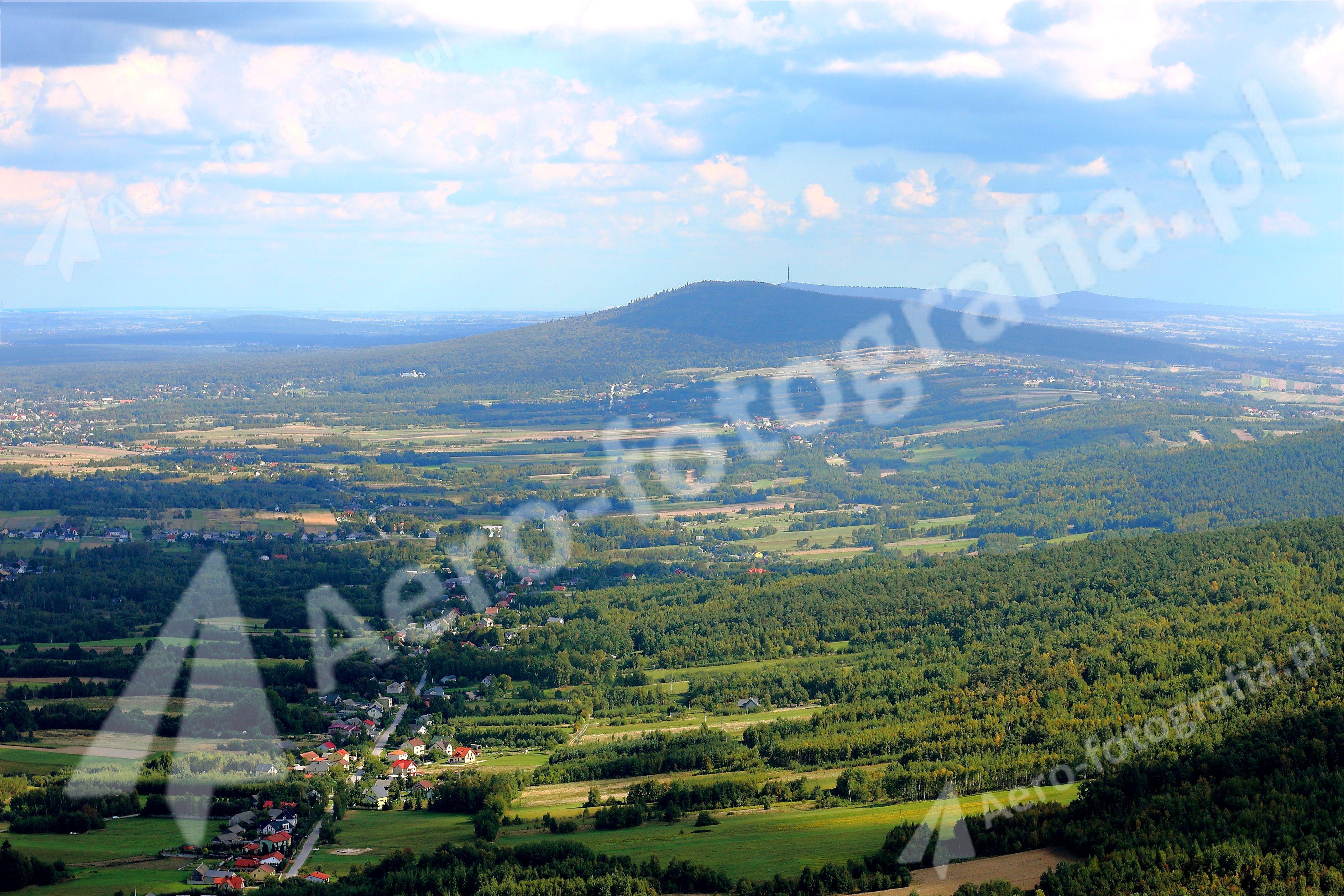 Góry Świętokrzyskie, Łysica, Święty Krzyż.
