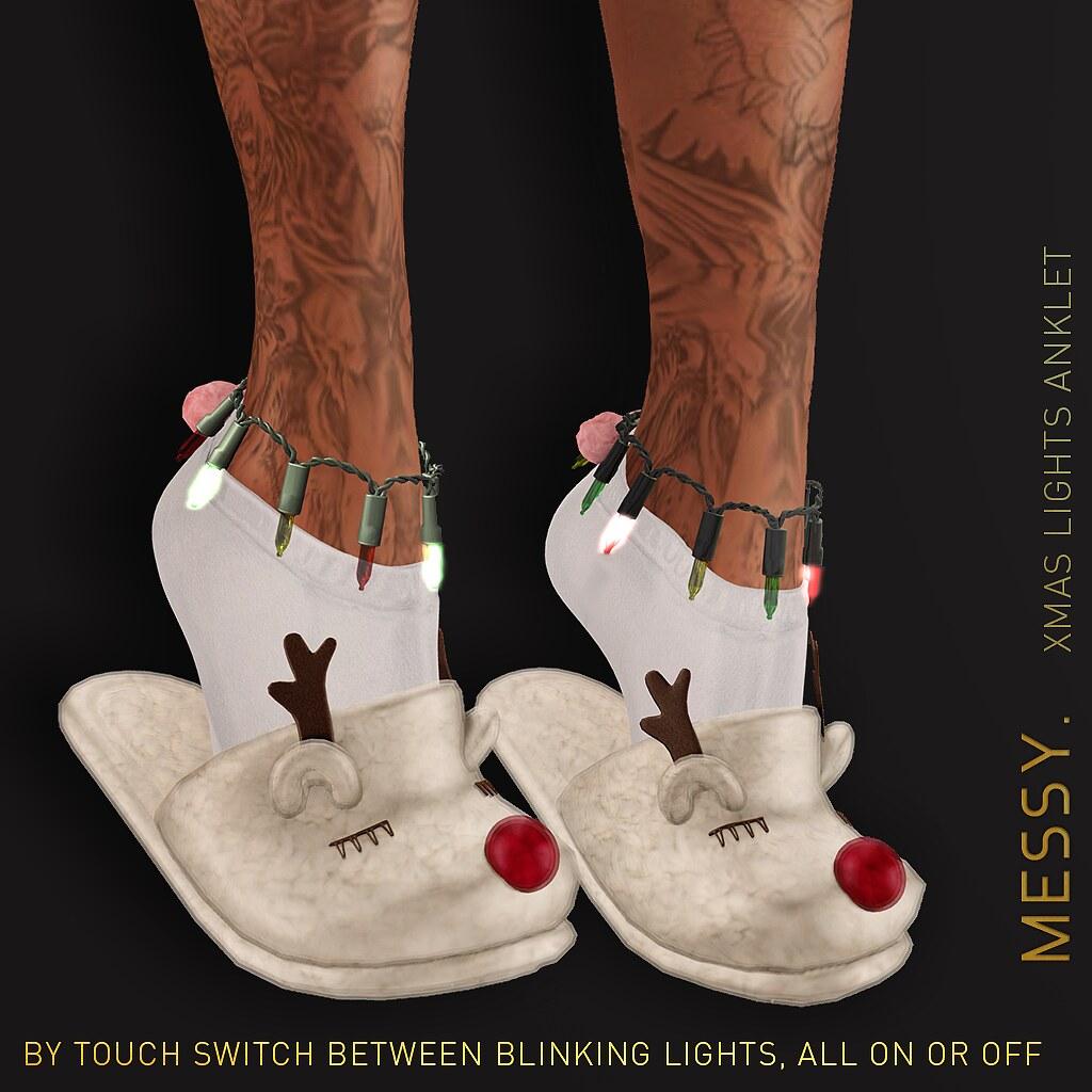 Xmas Lights Anklet - TeleportHub.com Live!