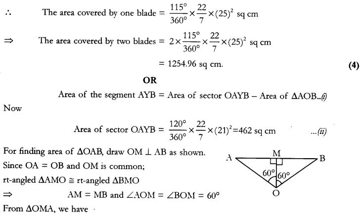 CBSE Sample Papers for Class 10 Maths Paper 10 34