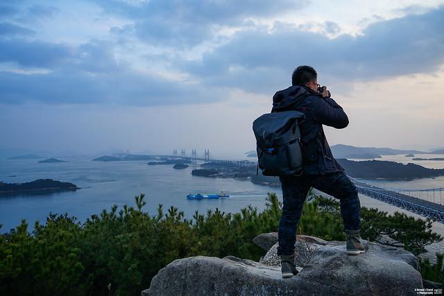 鷲羽山展望台山頂