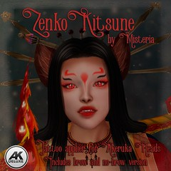 Zenko Kitsune Applier for Akeruka - 60L$