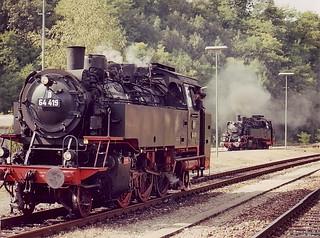 da- 64 419 & 64 491 am Bf Schwäbisch Hall